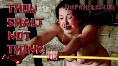 The Pain Files – Thou Shalt Not Think