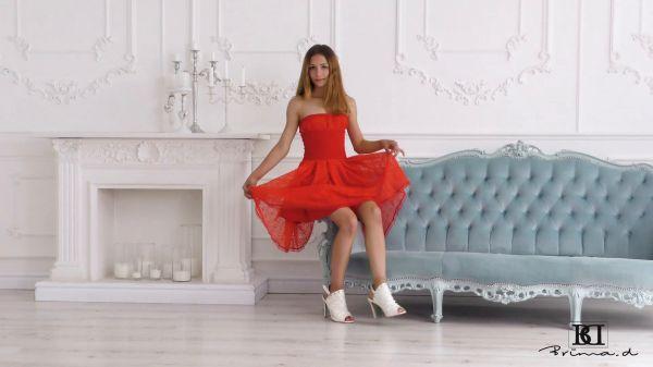 Brima Monica Red Dress video