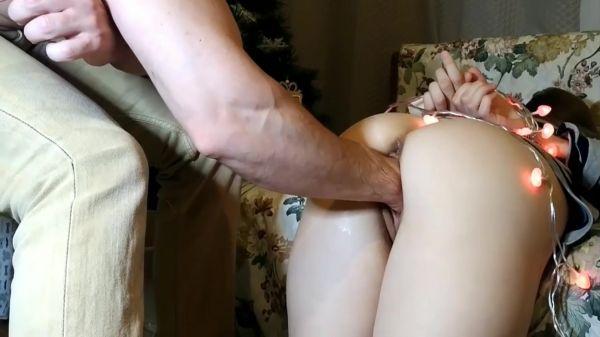 Sicflics: Lina  - Fisting his GF in bondage (19.03.2021) (FullHD/1080p)