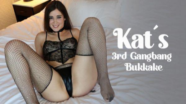 Bukkake - Kat's - 3rd Gangbang & Bukkake (26.03.2021) with Kat TB (UltraHD/4K/2160p) [2021]