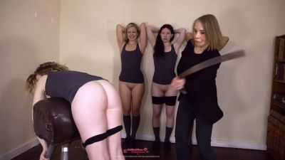 Wellsmackedseat - Four Girls in Trouble 4