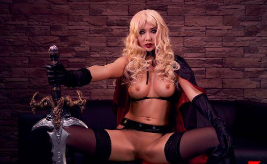 Lady Death a XXX Parody - Polina Maxim Gear vr