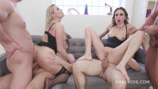 Julia North, Brittany Bardot - Monsters of Milf with Julia North and Brittany Bardoet #2, Balls Deep Anal, DAP, Anal Fisting, ATOGM, Buttrose GIO1769 [HD 720p] (LegalP0rno)