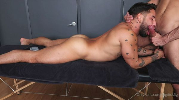 OF - bigdickfig - massage time with @brockbanks (Part 1)