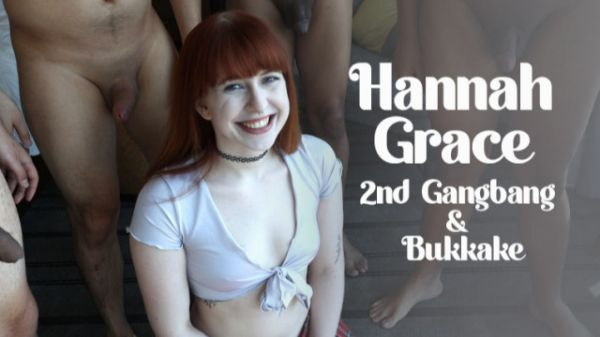 Bukkake - 2nd Gangbang & Bukkake (02.04.2021) with Hannah Graces (UltraHD/4K/2160p) [2021]