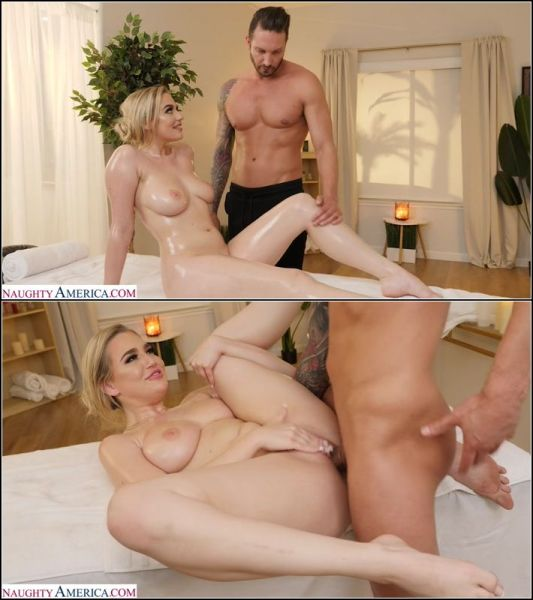 Blake Blossom  -  Blake Blossom Shows Off Her Big Tits And Wet Pussy To Her Hunky Masseur  (HD 720p) [2021]