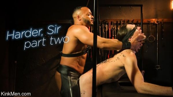 KinkMen - Harder, Sir - Part Two RAW
