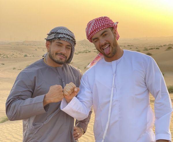 OF - Alejo Ospina fucks Daniel Montoya in Dubai