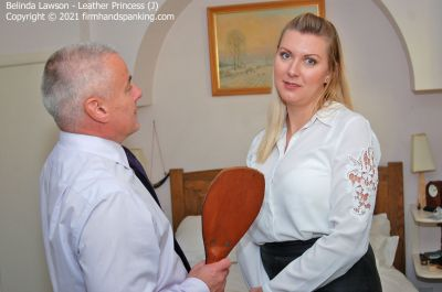 FirmHandSpanking – Belinda Lawson – Leather Princess – J