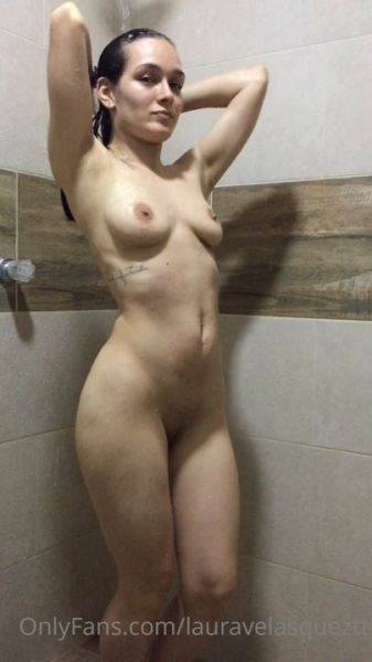 Laurita Vellas Nude Shower 2 video