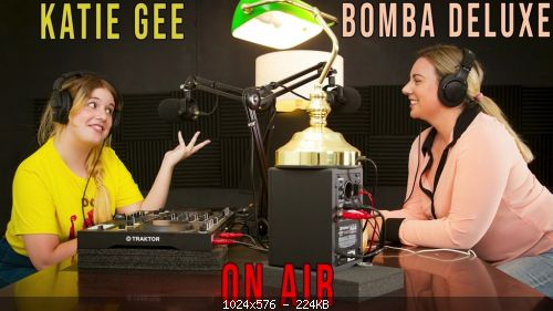Lesbimania Bomba Deluxe & Katie Gee – On Air