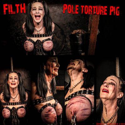 Brutal Master – Filth | 6 April 2021 Pole Torture Pig