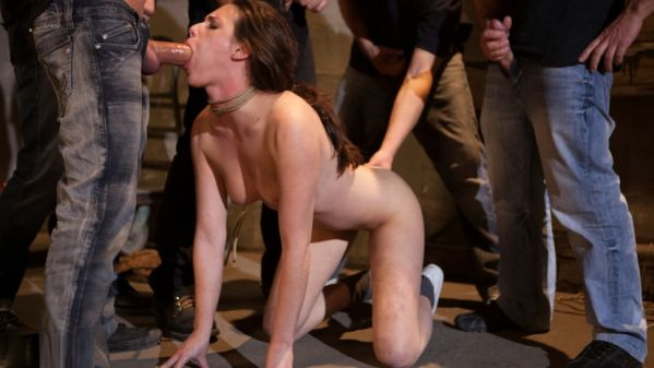 Casey Calvert Lives Out Her Gangbang