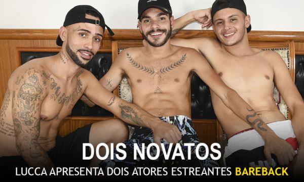 MMs - Como se faz um filme porno - Lucca Santanna, Micael Martins & Guilherme Silva