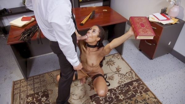 Step-Daughter Seduces Her Daddy's TA