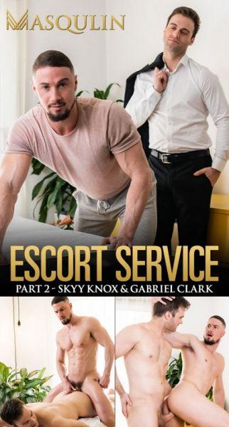 Masqilun - Gabriel Clark & Skyy Knox - Escort Service, Part 2