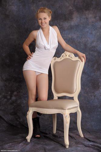 Silver-Sandrinya White Dress 1
