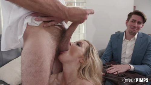Cherry Pimps: Linzee Gets More Than Milk From The Horny Milk Man