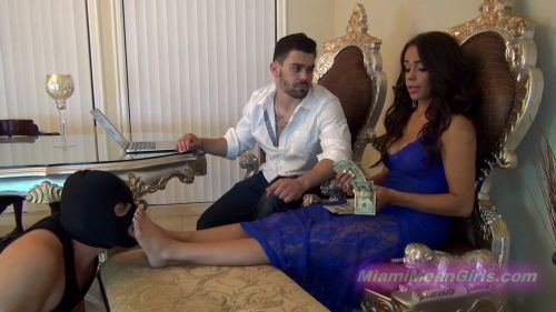 The Mean Girls Princess Carmela: Cuck Pays For Our Vacation (1080 HD)