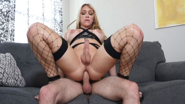 Angelina Please - Trans -  Bareback Anal & Oral (HD 720p) [2021]