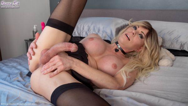 JoannaJet: Joanna Jet - Me and You 453 - Black Lingerie, Pink Heels [FullHD/1080p]