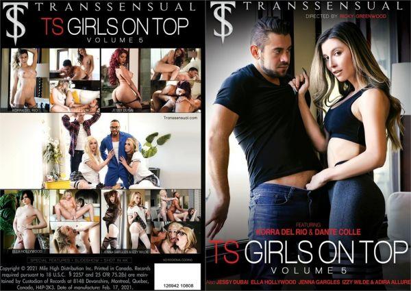 Korra Del Rio, Jessy Dubai, Adira Allure, Ella Hollywood, Izzy Wilde, Jenna Gargles  - TS Girls on Top Vol. 5 (Transsensual/FullHD/2021)