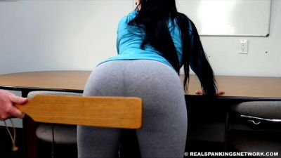 Realspankingsinstitute - Paddled By The Dean