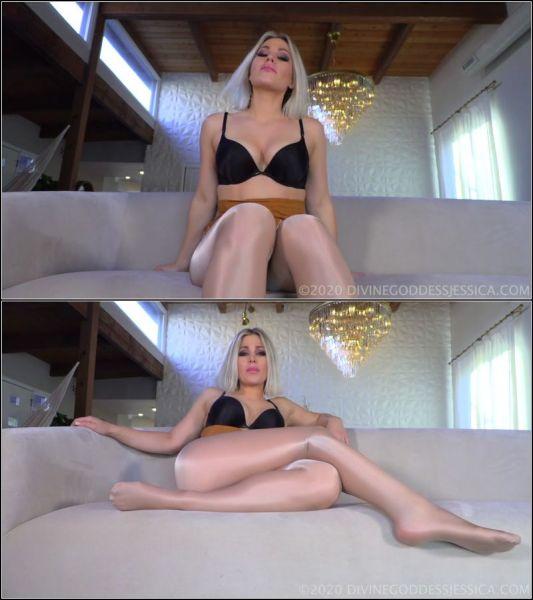Femdom - Shiny Legs with Goddess Jessica (FullHD/1080p) [2020]