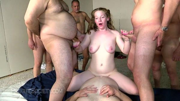 Amy - Amy Fucking A Roomful Of Daddies (07.05.2021) - PrivateSociety [720p HD] (2021)
