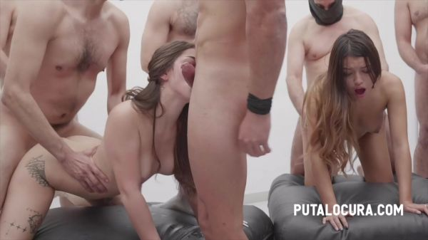 Camila Palmer, Roma Amor - FUCK, CREAMPIE AND SWALLING ALL (30.04.2021)  - PutaLocura [720p HD] (2021)