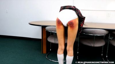 Sophia Punished By The Dean (part 1 Of 3)