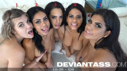 Group Kesha Ortega, Sheila Ortega, Canela Skin, Katrina Moreno, Clementine Marce