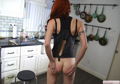 MySpankingRoommate - Episode 391: Madison Spanks The Plumber