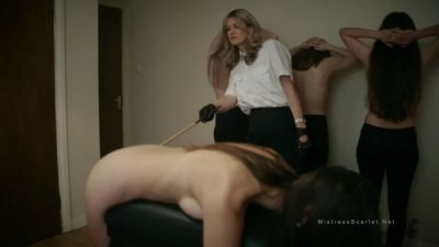 MistressScarlet – Navy Captain Canes Her Petty Officers