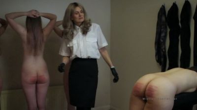 MistressScarlet - Navy Captain Canes Her Petty Officers