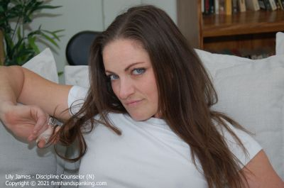 FirmHandSpanking - Lily James - Discipline Counselor - N