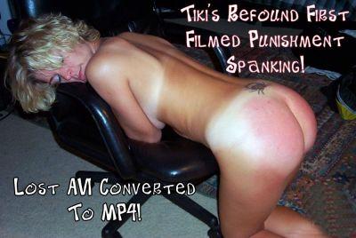 DallasSpanksHard – Tiki's Refound First Filmed Punishment Spanking!