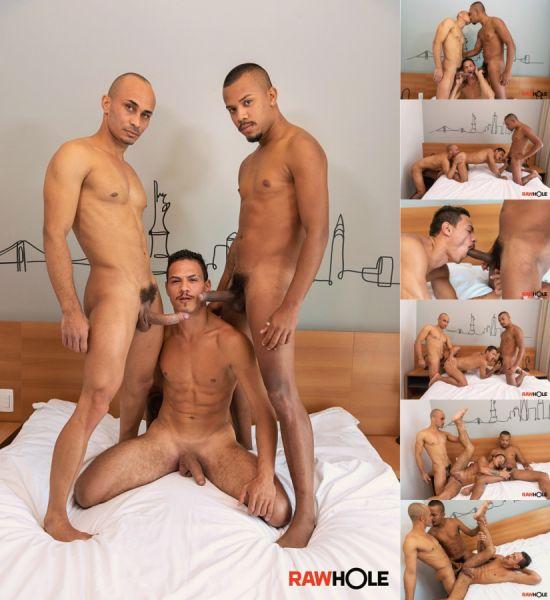 RawHole - Augusto, Gustavo & Kaliu - Three Studs, Uncut and Raw