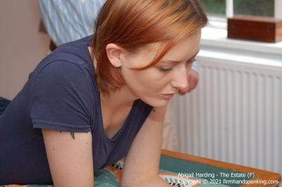 FirmHandSpanking - Abigail Harding - The Estate - F