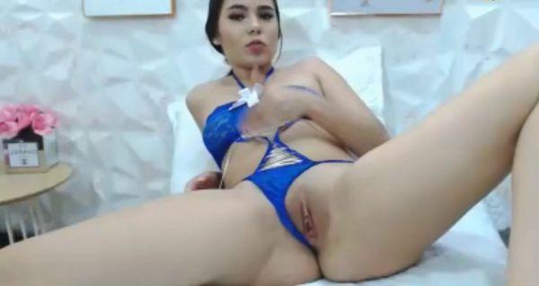 TeenCoverGirls Dulce Garcia Masturbation Cam Show video 1