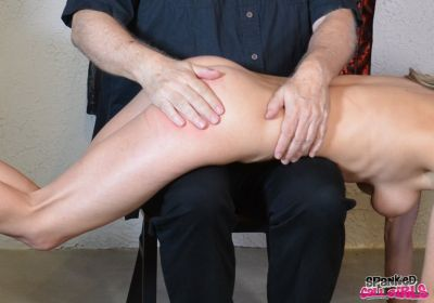 SpankedCallGirls - Chrissy Marie Punished By Boss Day 3