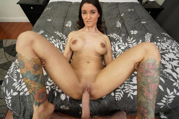 Busty Babe Lily Katarina Takes Big Cock POV Sex