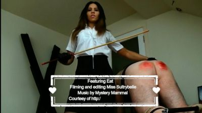 Miss Sultrybelle - 100 stroke FF caning