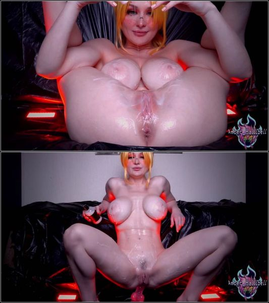 Dildo - Shaking Anal Orgasms Can't Be Enough with Amber_Hallibell (FullHD/1080p) [2021]