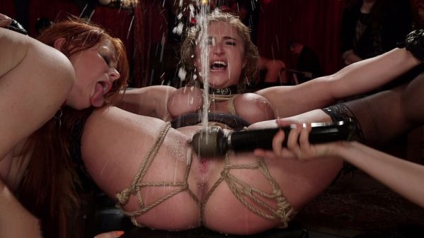 Busty Red-Headed Squirting Anal Whores Made To Serve Mona Wales