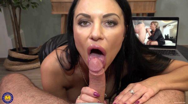 Mature - I caught My Stepson Masturbating (26.05.2021) with Ania Kinski  (HD/1064p) [2021]