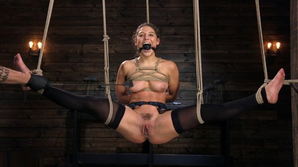 Hot Body Abella Danger Disciplined And Made To Cum In Rope Bondage