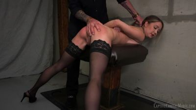 CaptiveChrissyMarie - Secretary Slave For A Day