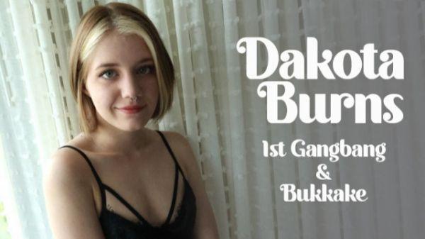 Bukkake - 1st Gangbang & Bukkake (28.05.2021) with Dakota Burns (FullHD/1080p) [2021]