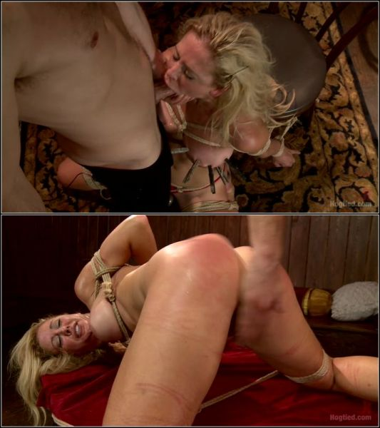 Gorgeous Big Tit Blonde Gets Fucked HARD in Tight Bondage  with Cherie Deville  (HD/720p) [2021]
